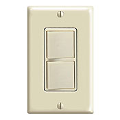 ^ LEVITON 5641-I 1P & 3 WAY IVORY COMBINATION SWITCH